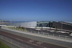 Bahía de Porth Eirias Colwyn Imagen de archivo