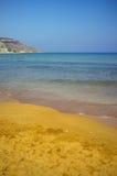 Bahía de Ramla, Gozo Foto de archivo