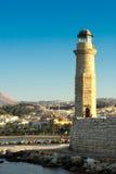 Bahía de Rethymno. Crete. fotos de archivo