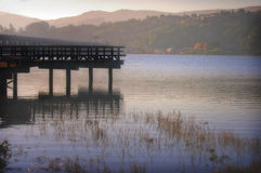 Bahía de Richardson, condado de Marín, California imagen de archivo libre de regalías