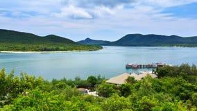 Bahía de Samaesan Foto de archivo