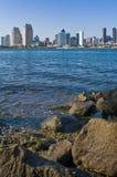 Bahía de San Diego Imagen de archivo libre de regalías