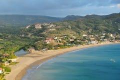 Bahía de San Juan del Sur Fotos de archivo libres de regalías