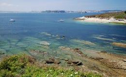 Bahía de Satander, Cantabria, España Fotografía de archivo libre de regalías