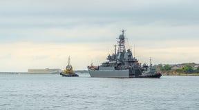 Bahía de Sevastopol Imágenes de archivo libres de regalías