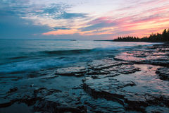 Bahía de SuperiorThunder del lago, Ontario, Canadá imágenes de archivo libres de regalías