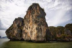 Bahía de Tailandia Phang Nga Foto de archivo