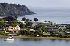 Bahía de Taipa - Nueva Zelanda Imágenes de archivo libres de regalías