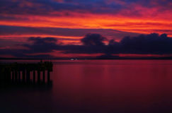 Bahía de Tenau foto de archivo libre de regalías