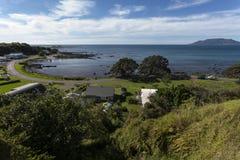 Bahía de Waihau Fotografía de archivo libre de regalías