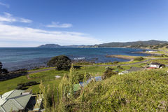 Bahía de Waihau Imagen de archivo