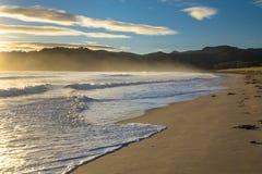 Bahía de Waikawau Fotos de archivo