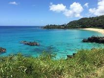 Bahía de Waimea Fotos de archivo libres de regalías