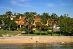 Bahía de Watsons, NSW, Australia Foto de archivo libre de regalías