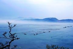 Bahía de Weihai Imagen de archivo libre de regalías