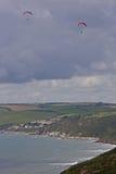 Bahía de Whitsand, Cornualles Imagen de archivo