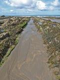 Bahía de Widemouth Imagenes de archivo
