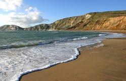 Bahía de Worlbarrow, Dorset foto de archivo