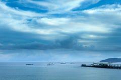 Bahía de Yalong, Sanya, China imágenes de archivo libres de regalías