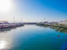 Bahía de Zaitunay en Beirut, Líbano imagen de archivo libre de regalías