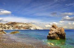 Bahía del Aphrodite Paphos, Chipre Imágenes de archivo libres de regalías