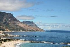 Bahía del campo cerca de Ciudad del Cabo Imagen de archivo libre de regalías