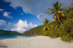 Bahía del canela en el parque nacional de las Islas Vírgenes de los E.E.U.U. en St John en las Islas Vírgenes de los E.E.U.U. fotos de archivo libres de regalías