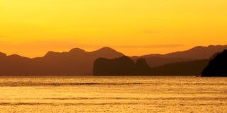 Bahía del EL Nido Fotos de archivo libres de regalías