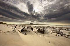 Bahía del elefante - isla del guijarro - Islas Malvinas Imágenes de archivo libres de regalías
