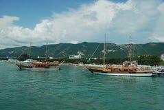 bahía del gelendzhik Fotos de archivo
