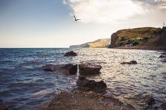Bahía del mar Foto de archivo