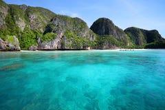 Bahía del maya, isla de Phi Phi Leh Imagen de archivo libre de regalías