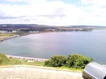 Bahía del norte en la alta marea Foto de archivo libre de regalías