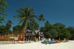 Bahía del oeste de Railay en Tailandia Fotografía de archivo libre de regalías