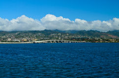 Bahía del Pearl Harbor Fotos de archivo