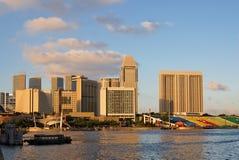 Bahía del puerto deportivo de Singapur Fotos de archivo libres de regalías