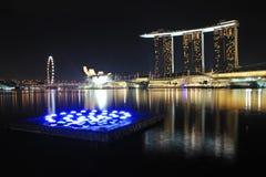 Bahía del puerto deportivo de Singapur Fotografía de archivo libre de regalías