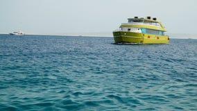 Bahía del puerto deportivo en Hurghada