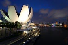 Bahía del puerto deportivo, Singapur Imagen de archivo libre de regalías