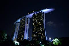 Bahía del puerto deportivo, Singapur Fotografía de archivo
