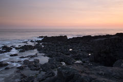 Bahía del resto, Porthcawl, el Sur de Gales  Foto de archivo libre de regalías