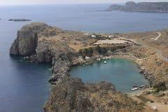 Bahía del ` s de San Pablo de la acrópolis Imagen de archivo libre de regalías