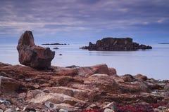 Bahía del sello, de Westfjords, Islandia imagenes de archivo