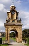 Bahía del sur Scarborough de la torre de reloj Imagen de archivo