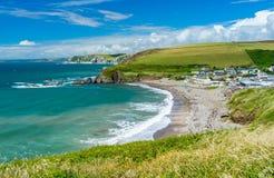 Bahía Devon England Reino Unido de Challaborough imagen de archivo libre de regalías