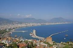 Bahía en Antalya Foto de archivo