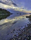 Bahía en el archipiélago de Estocolmo. Fotos de archivo libres de regalías