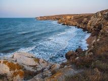 Bahía en el mar imagen de archivo libre de regalías