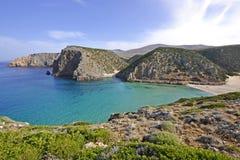 Bahía en el mediterráneo imagen de archivo libre de regalías