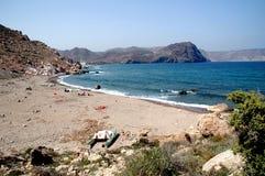 Bahía en la costa Foto de archivo libre de regalías